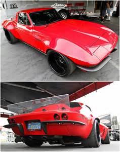 Corvette Pro Touring Race Car