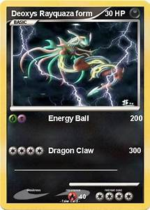 Pokémon Deoxys Rayquaza form - Energy Ball 200 - My ...