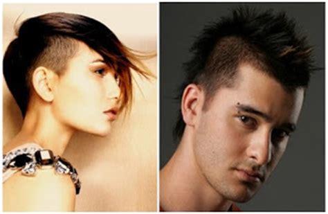 model gaya rambut keren  populer