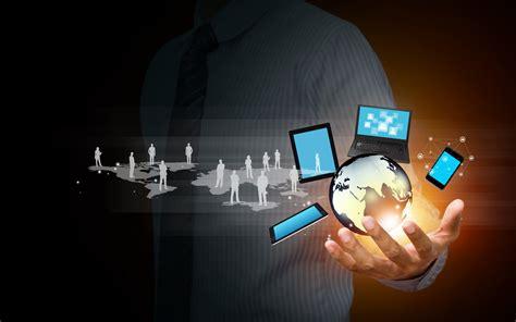 Information Technology Network Hand Business Desktop Wallpaper