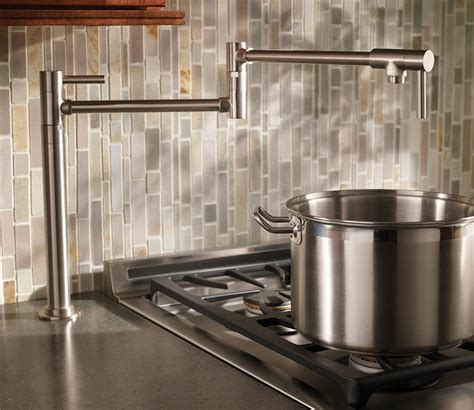 how to install a kitchen faucet learn more about pot filler height the homy design