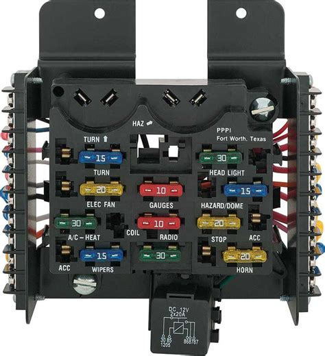 Chevy Expres Fuse Box Replacement by Tri Five Chevy Parts Electrical And Wiring Switches