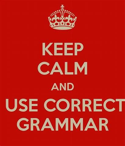 Grammar Correct Calm Keep English Sat Writing