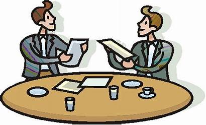 Meeting Clip Clipart Meetings Animated Communication Cliparts