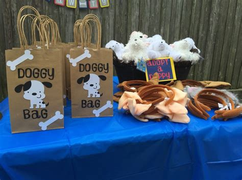 puppy party favors doggy bags adopt  dog puppy ears