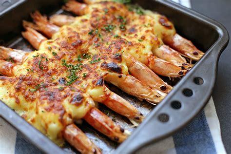 grilled cheese prawns ang sarap