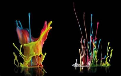 Neon Splash Backgrounds