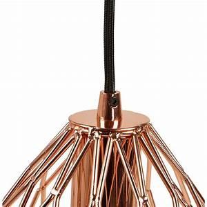 Lampe En Cuivre : lampe suspension vintage moss en m tal cuivre ~ Carolinahurricanesstore.com Idées de Décoration