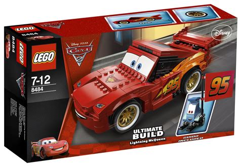 Lego Cars by Lego Cars 8484 Pas Cher Flash Mcqueen