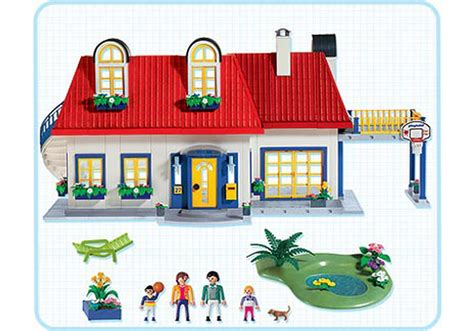 High Quality Images For Plan Playmobil 3965 Maison Moderne Montage
