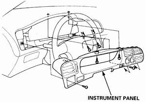 Service Manual  How To Remove Instrument 1993 Honda Accord