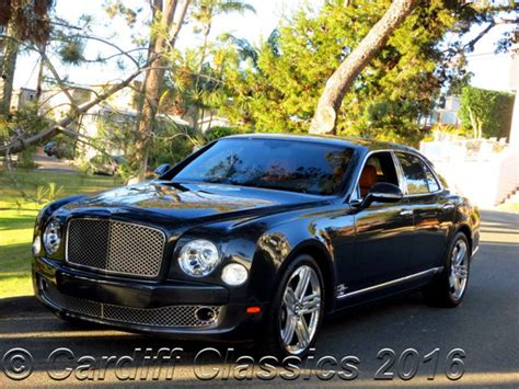 2011 Used Bentley Mulsanne Twin-turbo V8 At Cardiff