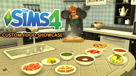 mod鑞es cuisines the sims 4 custom food showcase