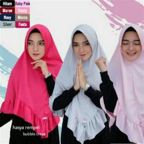 hijab jilbab hasya rempel model pakaian kerudung gaya hijab
