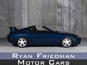1994 Toyota Supra Turbo 40982 Miles Baltic Blue Metallic