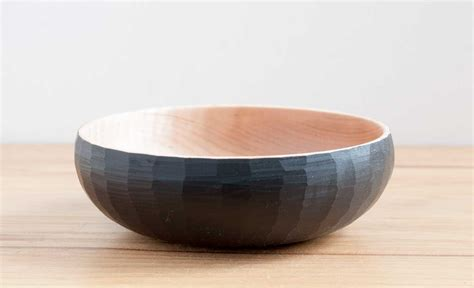 Small Faceted Bowl #5  Big Sand Woodworking