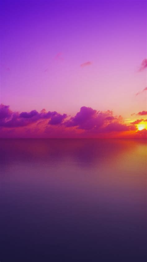 wallpaper maldives sunset purple hd nature  wallpaper  iphone android mobile