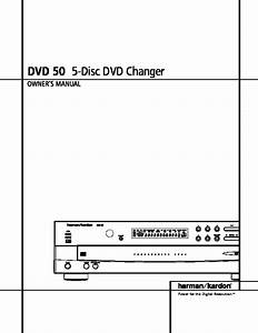 Harman Kardon Dvd 50 User Guide    Operation Manual  U2014 View