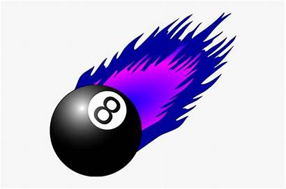 Ball Magic Eight Clipart Cartoon Netclipart Silhouettes