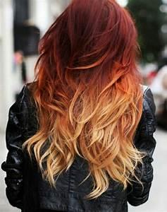 Ombré Hair Auburn : best 25 dark red ombre ideas on pinterest dark red balayage red balayage hair burgundy and ~ Dode.kayakingforconservation.com Idées de Décoration