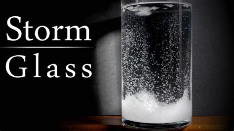 how to make glass l how to make a storm glass to predict the weather youtube