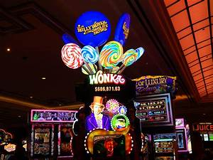 Slot Machine Willy Wonka | SSB Shop