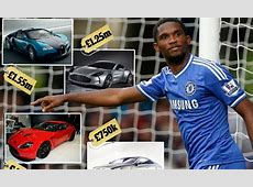 Samuel Eto'o's £4million fleet of cars Daily Mail Online