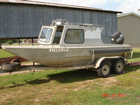 Aluminum Boats For Sale Louisiana Sportsman by Aluminum Boat With Cabin Cuddy Cabin For Sale In Lafayette