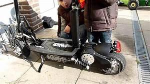 Scooter Roller Elektro : 1000 watt e scooter mach 1 elektro roller youtube ~ Jslefanu.com Haus und Dekorationen