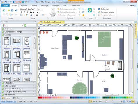 logiciel de plan de maison t 233 l 233 chargement des exemples gratuit