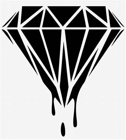 Diamond Clip Clipart Background Diamonds Transparent Coloring