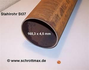 Stahlrohr 100 Mm : stahlrohr 6 1 2 168 3 x 4 5 mm g nstig im shop eisenmax ~ Watch28wear.com Haus und Dekorationen