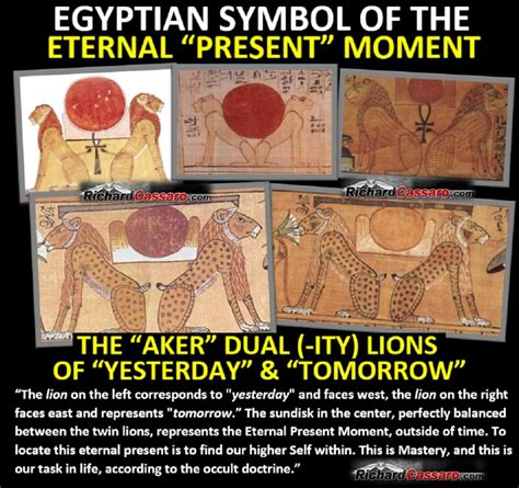 """the esoteric meaning of egypt´s """"aker"""" lions richard cassaro"""