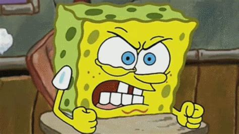 Angry Hate Gif By Spongebob Squarepants