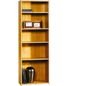 sauder beginnings 5 shelf bookcase multiple finishes