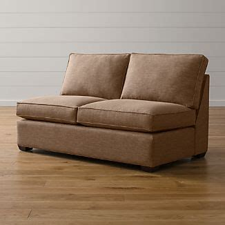 Armless Loveseat Sleeper by Armless Sofa Crate And Barrel