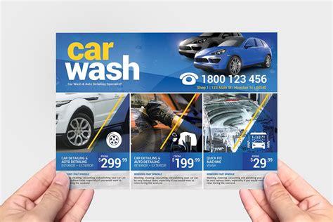Customize 280 car wash flyer templates postermywall, car wash flyer mobile detailing flyer customize 280 car wash flyer templates postermywall. Car Wash Flyer Template v2 - PSD, Ai & Vector - BrandPacks
