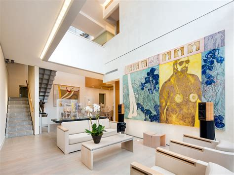 interiors for homes an art collector s 14 5m west village carriage house is both private gallery and family home