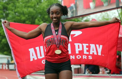 Apsu Track Field Comes Third Ovc Outdoor