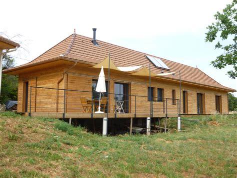 maison ossature bois mich 233 a maison ossature bois dans le lot 46
