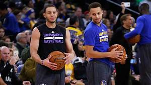 Stephen Curry: Warriors star hits three over brother Seth ...