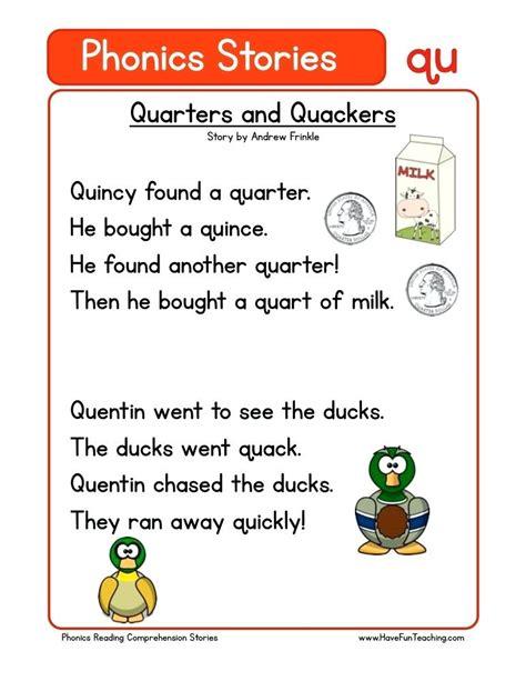 qu words phonics worksheets xugerinfo