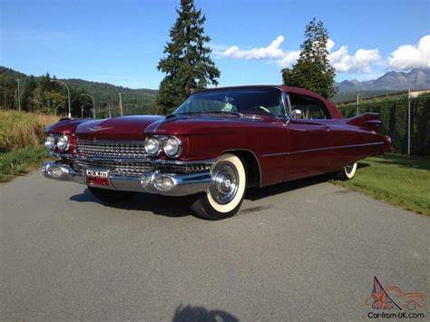 59 Cadillac Series 62 Convertible