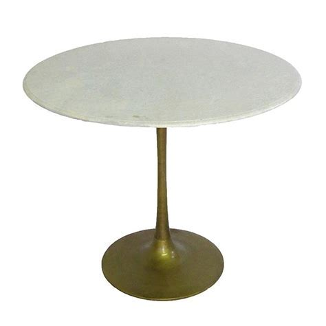 Brasserie Cafe Table w/Marble Top
