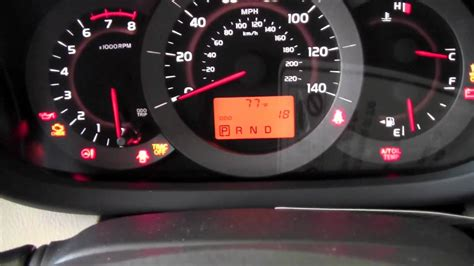 Prius Dashboard Warning Lights