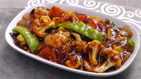 chinese vegetables  szechuan sauce vegan vegetarian