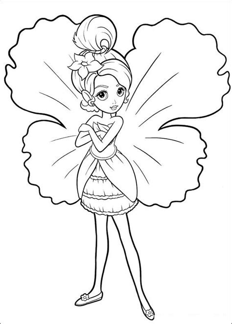 barbie fairy coloring pages  getcoloringscom
