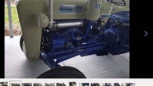 1964 Ford 4000 Tractor Diesel 4cy Select-o-speed