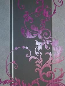 Tapete Ornamente Grau : myself vlies tapete ornamente pink grau 6858 09 glimmer 2 ~ Buech-reservation.com Haus und Dekorationen