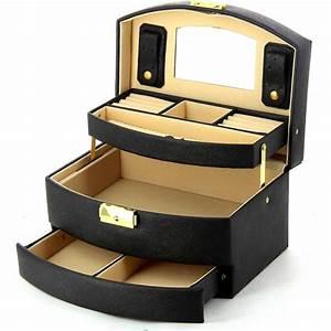 Coffret A Bijoux : coffret bijoux bleucerise w008 couleur principale noir promotion ~ Teatrodelosmanantiales.com Idées de Décoration